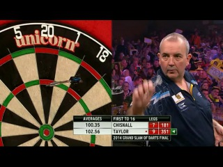 Phil Taylor vs Dave Chisnall  (Grand Slam of Darts 2014 / Final)