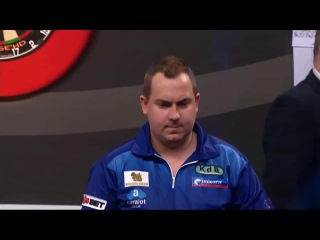 Kim Huybrechts vs Dave Chisnall (Grand Slam of Darts 2014 / Semi Final)