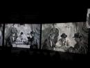 Мультимедийная выставка От Моне до Сезанна. Французские Импрессионисты..Фрагмент 1