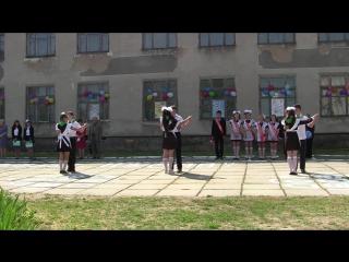 Танец на последний звонок))) 11 и 9 классы Вальс+Флешмоб Семисотская СОШ