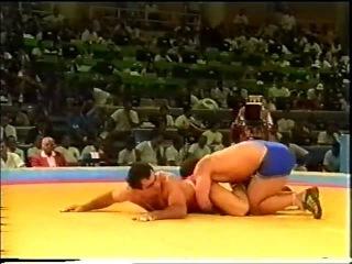 Махарбек Хадарцев vs Кеннан Симсек финал ОИ 1992