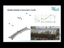 Revit Modeling a thin shell roof by Eladio Dieste