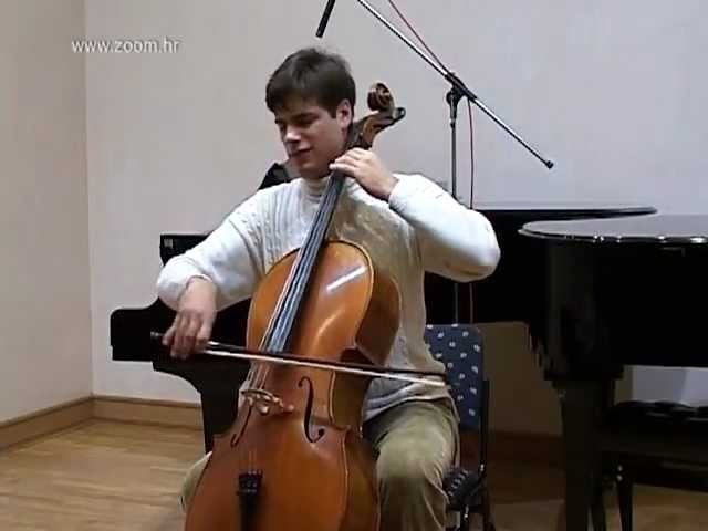 One of the 2CELLOS Stjepan Hauser At School 2003