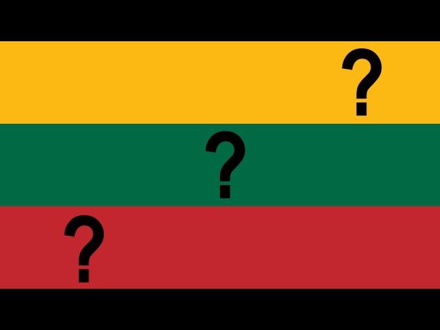 Что символизируют ЦВЕТА литовского флага?