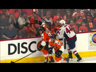 Gotta See It: Orpik shaken after taking hard hit from White