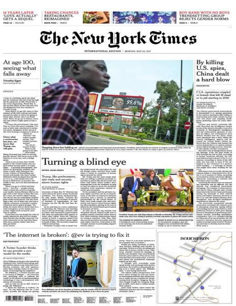 International New York Times 22 May 2017 FreeMags
