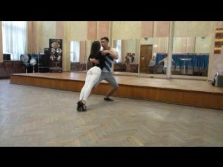 Aleksander Zekensky & Anna German/Bachata workshop /Alma Besso dance school/