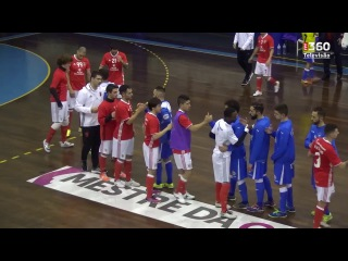 Liga Sport Zone, 12.ª jornada: Modicus Sandim 3-4 Benfica