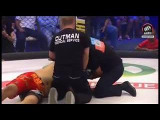 Денис Гольцов Нокаут Bечера ACB 41