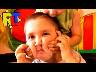 Молочный челлендж УДЕРЖИ МОЛОКО во рту - milk challenge веселое видео для детей