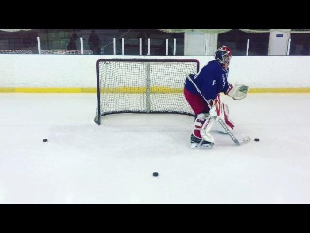 Goalie School Тренировка Хоккейного Вратаря Reverse