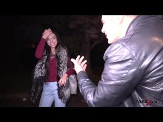 TakeVan Lola Bulgari - Sorry For Party Cocking Car-Sex,Brunette,Natural tits,Hardcore,Blowjob,New Porn 2016