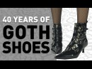 40 Years of Goth Shoes