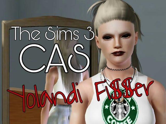 The Sims 3 CAS Йоланди Фиссер