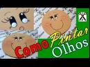 Como Pintar Olhos Para Bonecos (Fácil)-Lucas E.V.Arts.