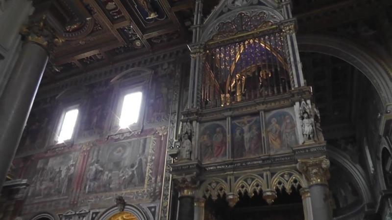 Латеранский собор интерьер