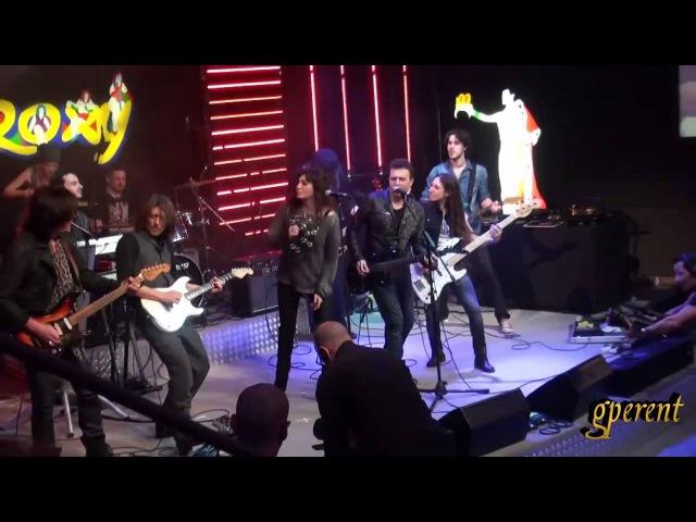 Notte delle chitarre Giants of Guitar Custodie Cautelari con Solieri Moroni e Poggipollini