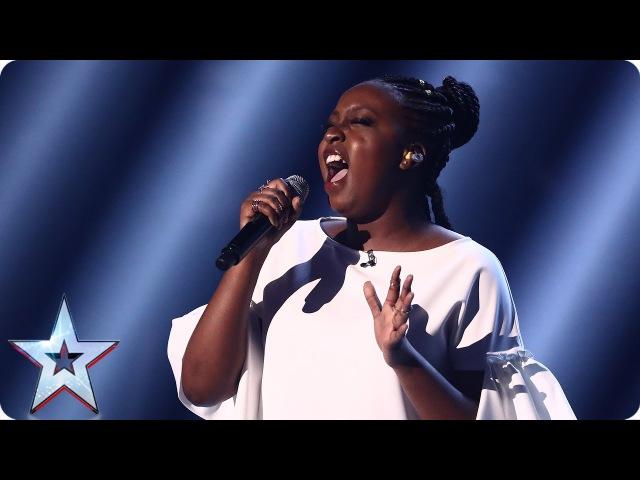 Sarah Ikumu reigns supreme with Prince's Purple Rain | Semi-Final 3 | Britain's Got Talent 2017