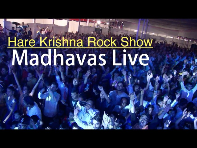 Hare Krishna Mantra Rock Show LIVE By Madhavas Rock Band