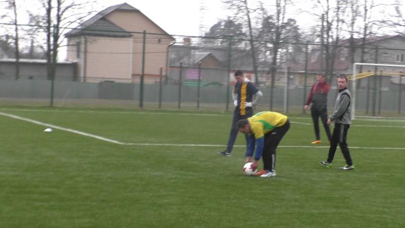 Малые Вязёмы : Торпедо-Жаворонки, гол 0-1