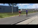 Roller Skiing Epic Fail