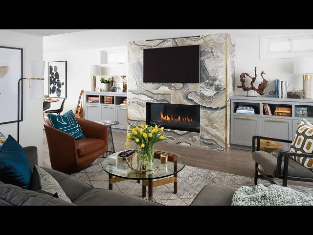 Interior Design Elegant Basement Makeover