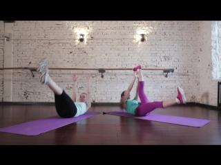 Короткая жиросжигающая тренировка  4 минуты4 Фитнес Подруга