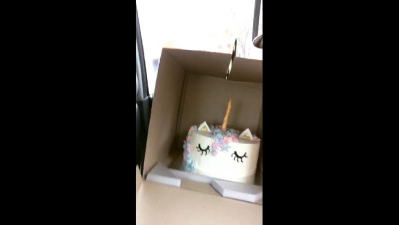 Тортик для Просеньки
