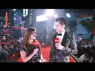 Kris Wu - Red Carpet Interview | xXx: Return of Xander Cage