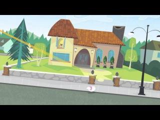 Кид vs Кэт - Лазерный коготок - Серия 2, Сезон 2   Короткая анимация Disney