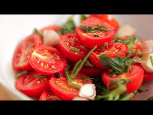Малосольный помидоры Быстрая засолка Русская кухня