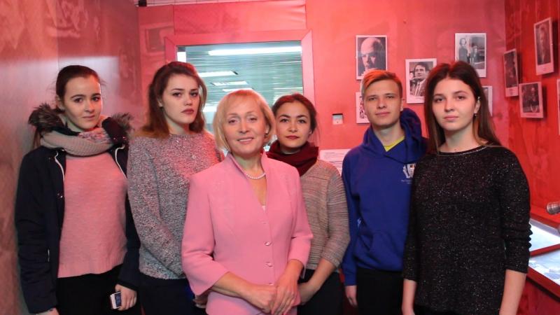 Перший курс КНУКіМ в музеї Першого Національного з Вікторією Федоренко
