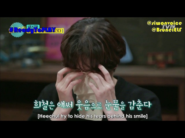 [ENGSUB] 171110 tvN Life Bar EP44 with Super Junior - Heechuls tears ㅠ_ㅠ