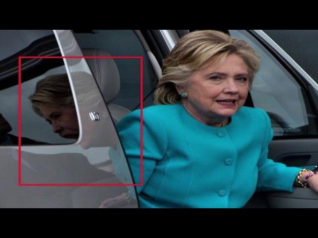 Необъяснимое фото Хиллари Клинтон это не монтаж