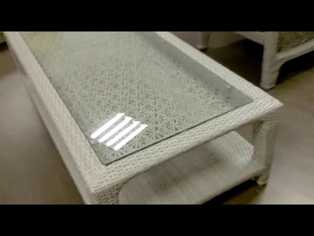 KWA Плетеный кофейный стол Labro видео обзор