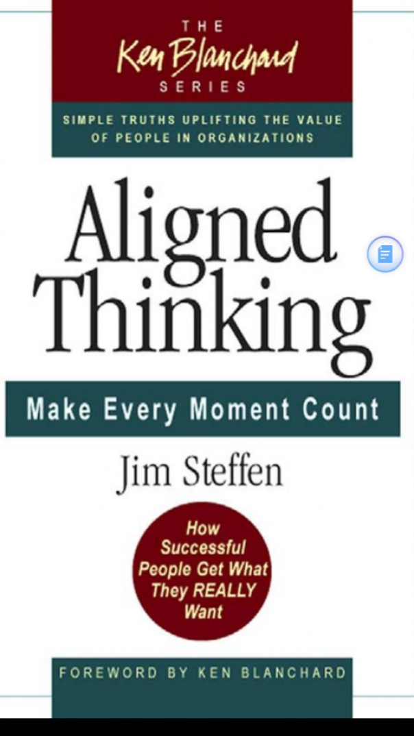 Aligned Thinking Make Every Moment