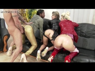 Leather Chronicle -Jessie Volt, Jasmine Webb And Gina Gerson