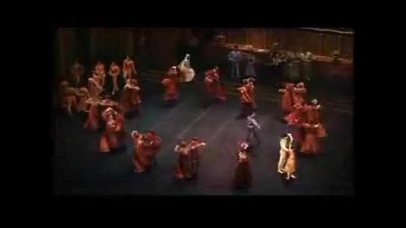 С.C. Прокофьев - Танец рыцарей (из балета Ромео и Джульетта, 1995г.) Хореография Р.Нуриев, Тибальд - Шарль Жюд, Ром