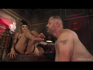 Foxxy and D. Arclyte [Tattooed Shemale]
