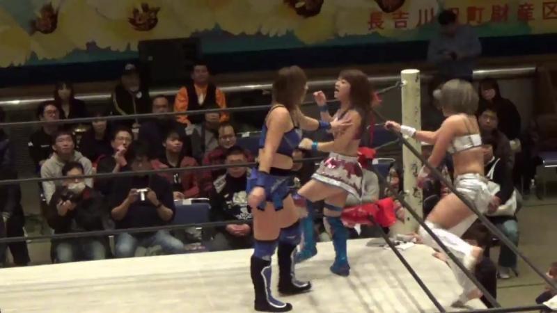 4. Hiromi Mimura Jungle Kyona vs. Konami Yoko Bito