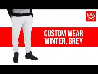 Спортивные штаны custom wear winter, grey. обзор