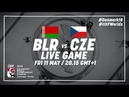 Belarus Czech Republic Full Game 2018 IIHF Ice Hockey World Championship