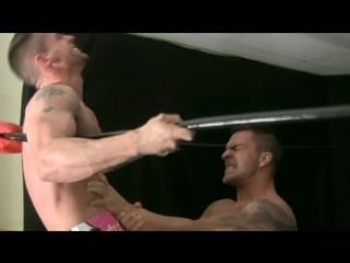 Muscle domination wrestling -  braden charron vs carter alexander