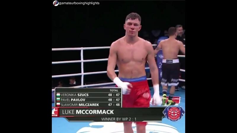 Английский воин Люк МакКормак 64kg WSB8 моменты 02032018