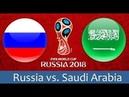 2018 FIFA World Cup 2018 Live! | Theme Song Music | Russia vs Saudi Arabia
