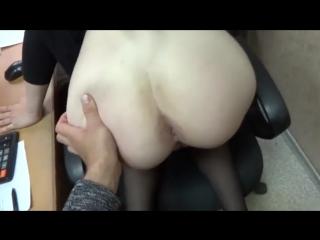 Секс на работе в офисе на рабочем месте (трахнул в рот секретаршу, в жопу, порно, порнушка, с секретаршей, давалака)