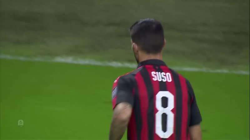 AC Milan 3 2 Sampdoria Suso Strike Settles San Siro Thriller Serie A