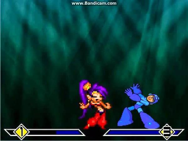 MUGEN Shantae teaches Dancing