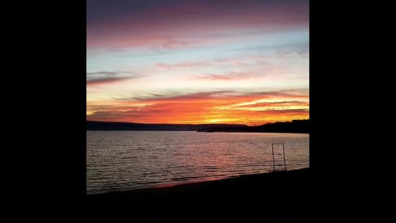 Черноеморе побережьеболгарии набережная города Варна декабрь2017 пляж закат назакате закатнаморе Sonnenuntergang san