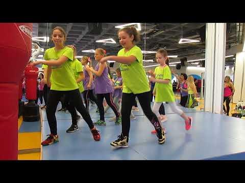 1,2,3 - Sofia Reyes, Zumba Kids choreo, coordonator Zumba Oana Iasi, Oana Ciliac.